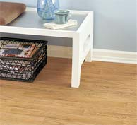 Pergo Flooring available at Korkmaz Rugs and Flooring, Alexandria Walnut color